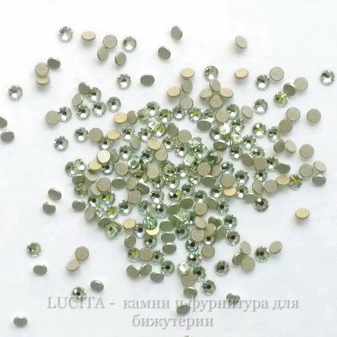 2058 Стразы Сваровски холодной фиксации Chrysolite ss 5 (1,8-1,9 мм), 20 штук (WP_20140814_13_37_38_Pro)
