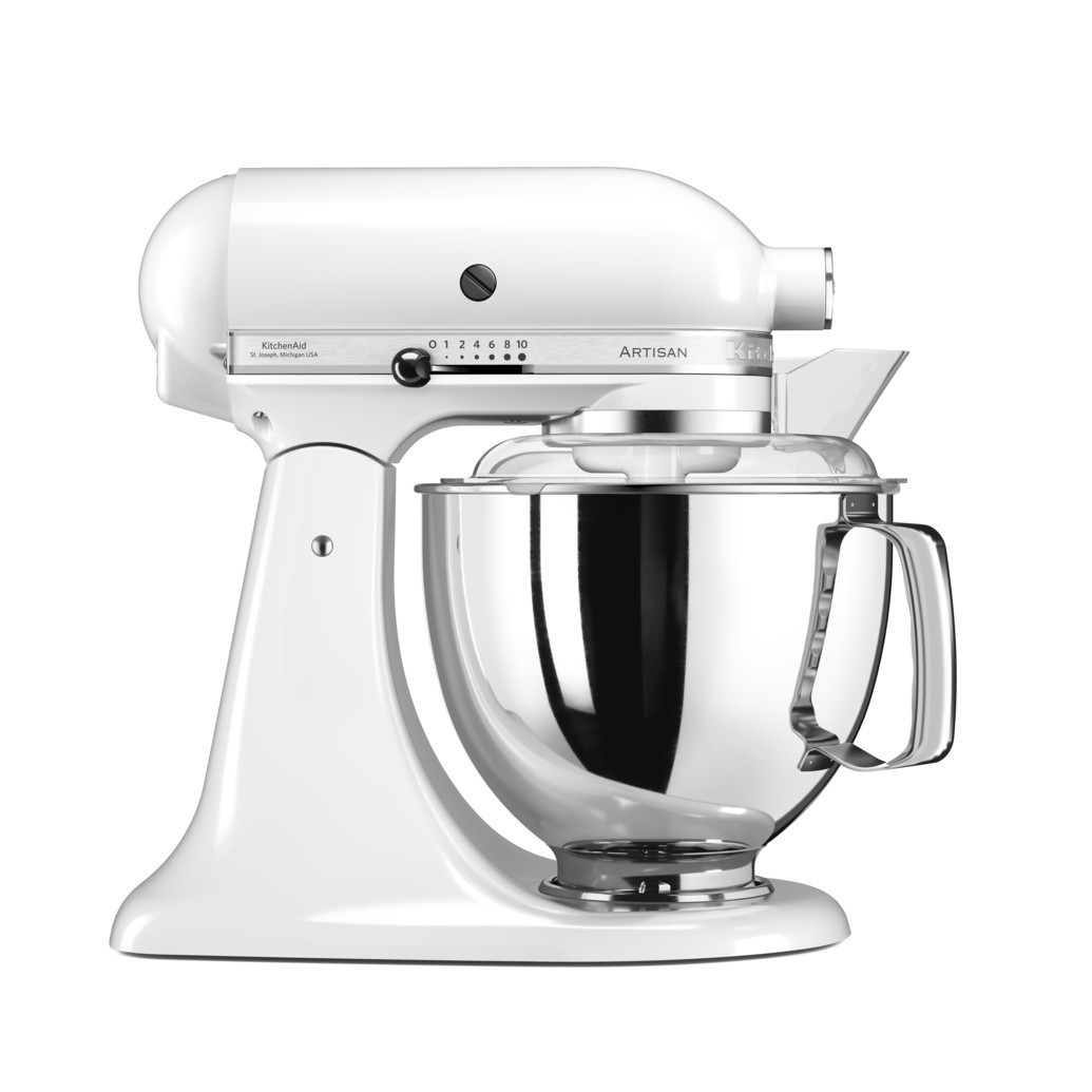 Миксер KitchenAid Artisan планетарный белый 5KSM175PSEWH