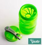 Спортивная питьевая бутылка Sistema Sport Fusion, зеленая 560 мл