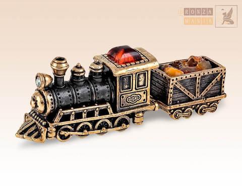 фигурка Паровоз с вагоном