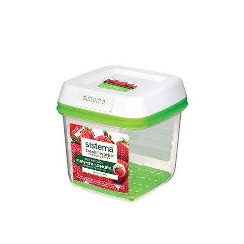Контейнер квадратный FreshWorks 1,5 л