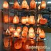 Солевая лампа Ваза с камнями 4-6 кг эффект солевых пещер