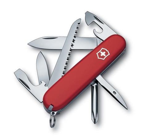 Нож Victorinox Hiker, 91 мм, 13 функций, красный*