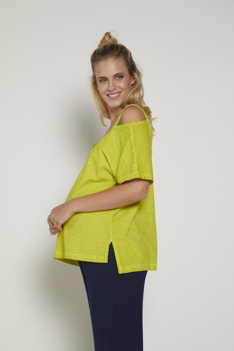 Блузка 09351 лимонный