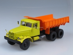 KRAZ-256B Tipper yellow-orange 1:43 Start Scale Models (SSM)