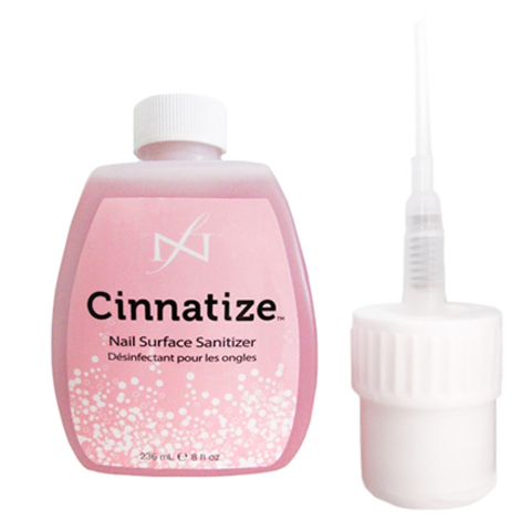 Famous Names, Cinnatize (дезинфектор для подготовки ногтевой пластины) 236 мл