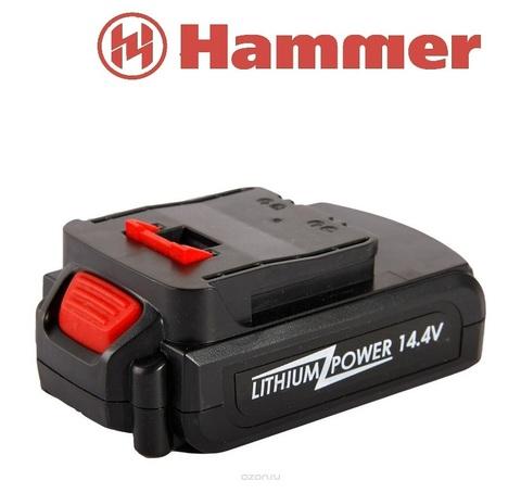 Аккумулятор Hammer Flex AB142 Li 14.4В 1.3Ач для Hammer Flex ACD142Li  90126930