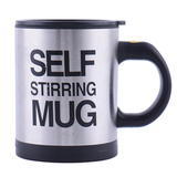Кружка мешалка Self Stirring Mug (термокружка-миксер) (Чёрный)