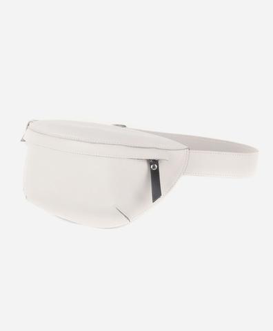 Поясная сумка белого цвета