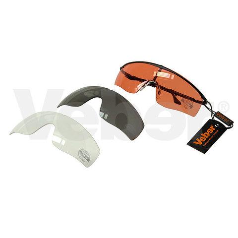 Тактические защитные очки Veber Tactic Force L3M2