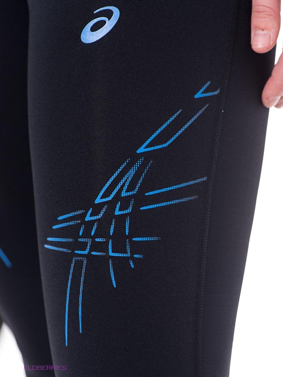 Asics Stripe Knee Tight Тайтсы женские