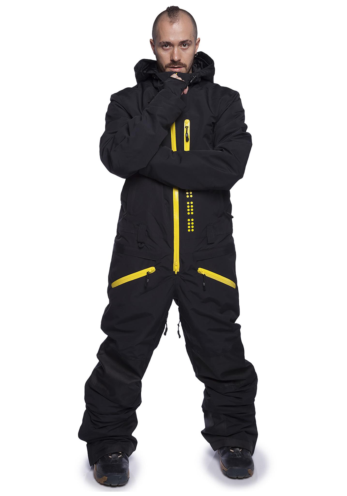 Утепленный сноубордический комбинезон для мужчин Cool Zone Kite 31К20М черный