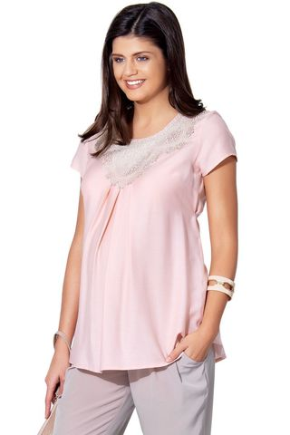 Блузка 01391 розовый
