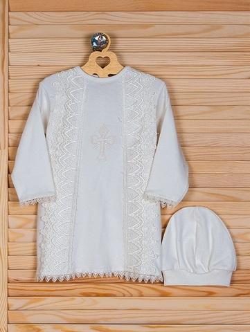 Крестильная рубашка Чудо айвори