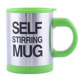 Кружка мешалка Self Stirring Mug (термокружка-миксер) (Зелёный)
