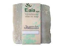 Греческое мыло ручной работы Жасмин Elaia spa 100 гр.