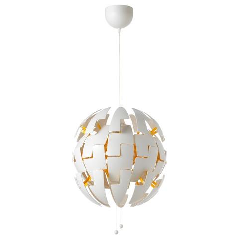 ИКЕА ПС 2014 Подвесной светильник белый, желтый