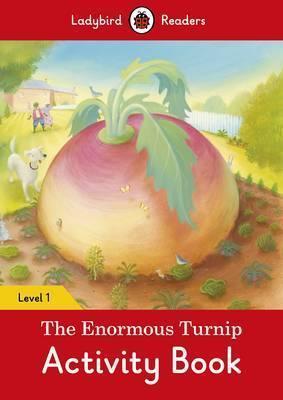 Kitab The Enormous Turnip Activity Book - Ladybird Readers Level 1 | Ladybird