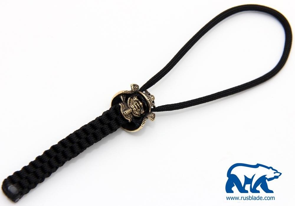 "Custom Sword Knot ""Samurai helmet"" Limited Edition"