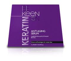 KEEN кератиновая сыворотка для усталых волос keratin anti aging serum 7 x 10мл