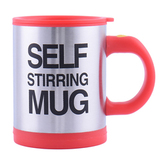 Кружка мешалка Self Stirring Mug (термокружка-миксер) (Красный)