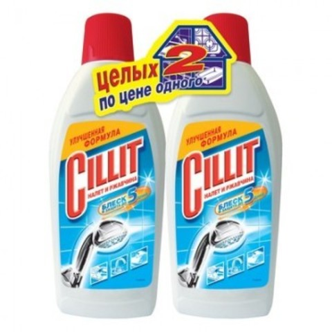 Средство для сантехники CILLIT 450мл от ржавчины+CILLIT 450мл от ржавчины в