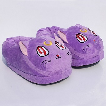 Slippers Plush Sailor Moon Luna