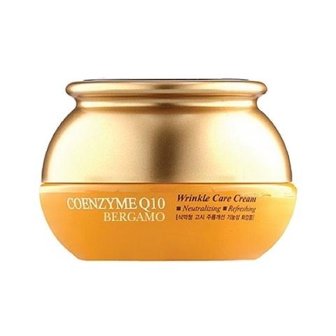 Крем для лица с коэнзимом Q10 антивозрастной Bergamo Coenzyme Q10 Wrinkle Care Cream 50мл