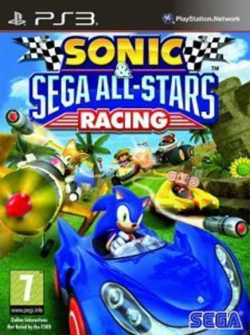 Sony PS3 Sonic & All-Stars Racing (английская версия)