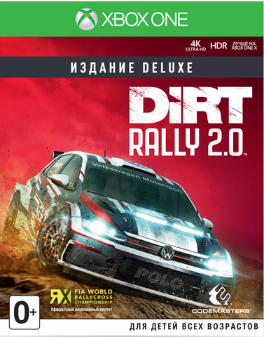 Microsoft Xbox One Dirt Rally 2.0 Издание Deluxe (английская версия)