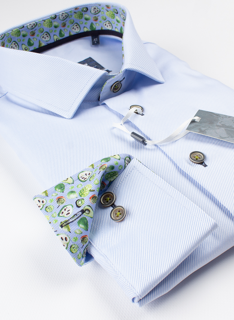 Рубашка Ledub tailored fit 0137811-120-140-180
