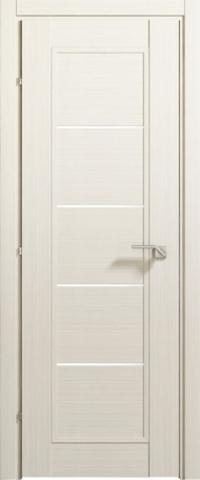 Дверь Краснодеревщик ДО 3352, цвет беленый дуб, остекленная