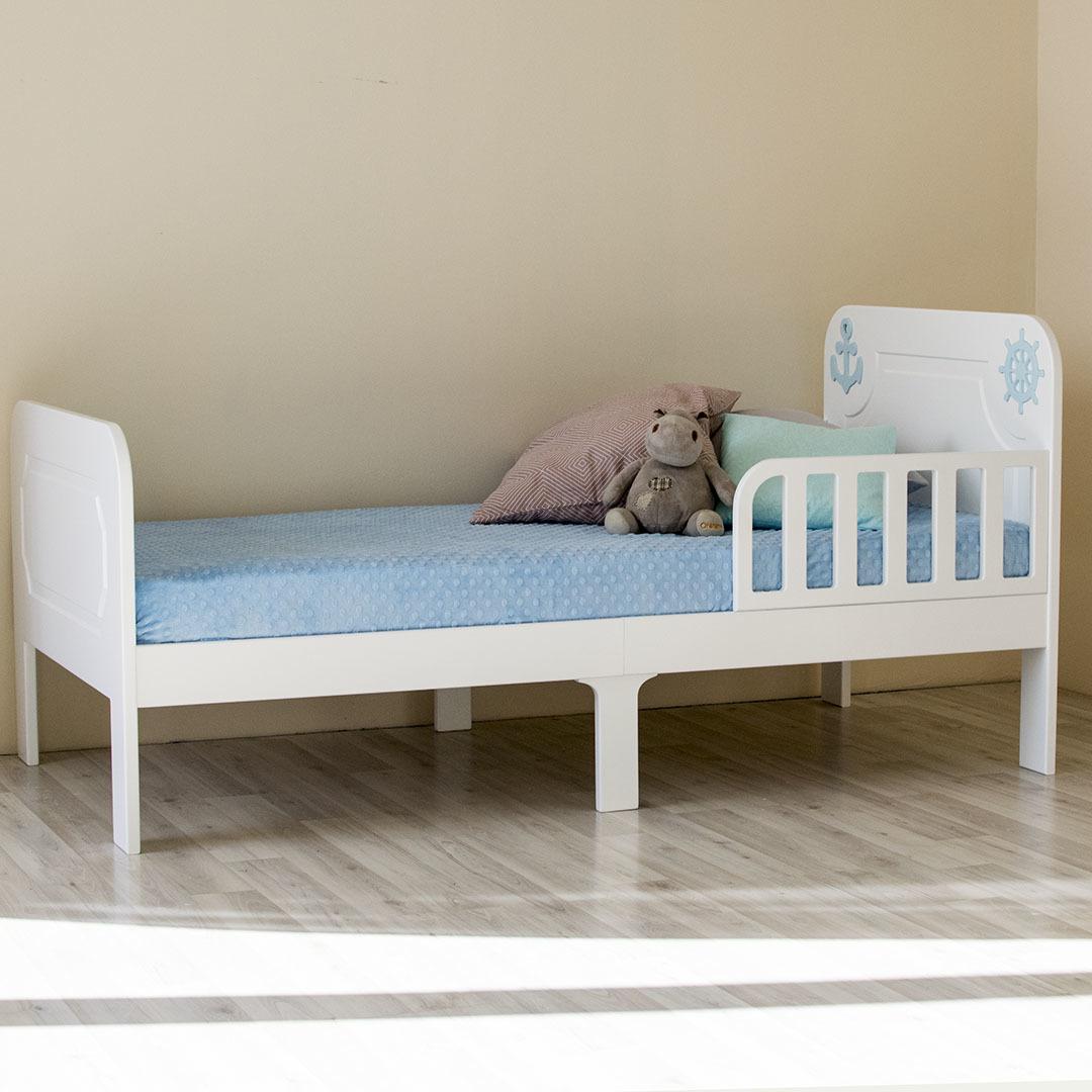 Кровать подростковая Море Белая