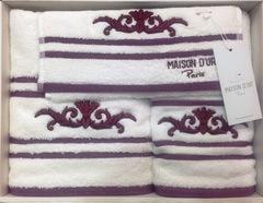 Набор полотенец BARON - БАРОН 3пр 30х50 50х100 и 70х140 Maison Dor (Турция)