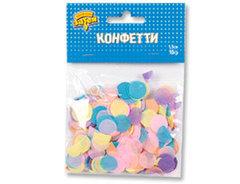 Конфетти Круги тишью ассорт Нежное 10грG