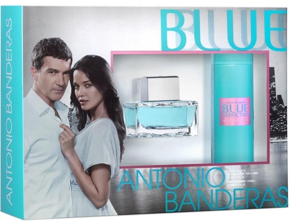 Blue Seduction for Women Gift Set