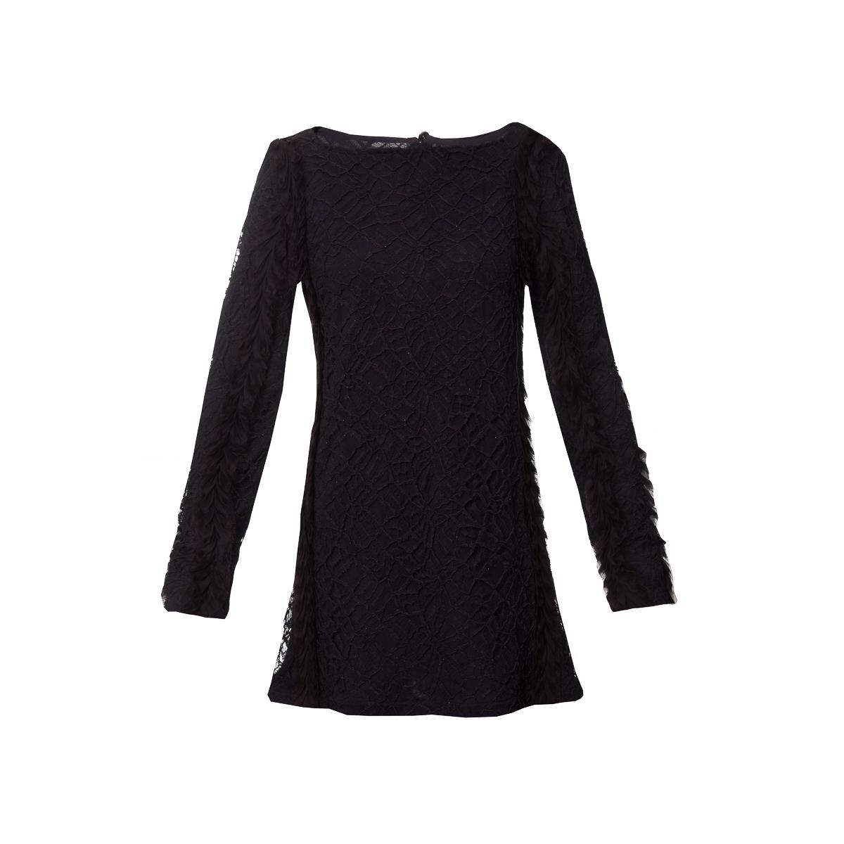 Эффектное коктейльное платье-туника баклажанового цвета от Chanel, 36 размер.