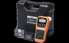 PTE110VPR1 - Профессиональный принтер для печати наклеек Brother PTE-110VP (ленты TZE от 3,5 до 12мм,до 20мм/сек,180т/д,кейс+БП)