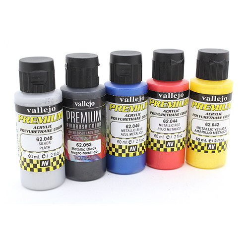 Premium Colors 62103 Premium Colors Набор Металликов (Metallics), 5x60 мл 62103.jpg