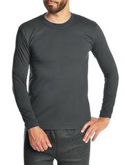 30570-1 футболка мужская дл. рукав, серая