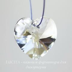 6228 Подвеска Сваровски Сердечко Crystal Moonlight (18х17,5 мм)