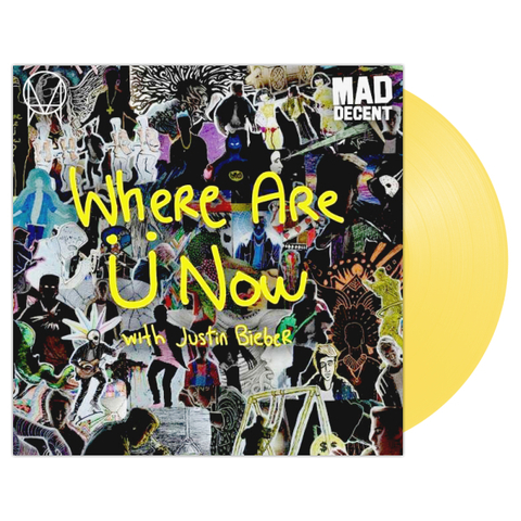 Skrillex & Diplo With Justin Bieber / Where Are U Now (Coloured Vinyl)(12