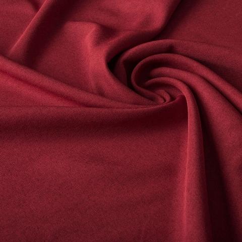 Ткань рогожка Джейн винный