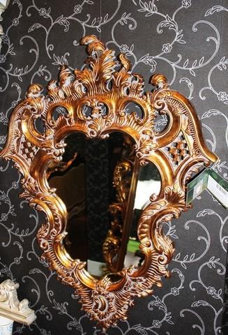 зеркало в золотой раме 01-74 ( by MAGIC MIRROR )
