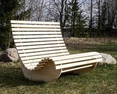 Кресло-качалка садовая 2-местная