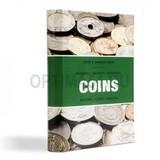 Карманный альбом для монет COINS, 8 листов на 6 ячеек для монет D до 33 мм, тематическая обложка