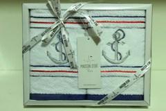 Набор полотенец  2 предмета 40х60 MARINA - МАРИНА  / Maison Dor (Турция)