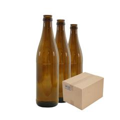 Бутылка пивная 0,5 л. коричневая (20 шт.)