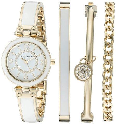 Купить Женские наручные часы Anne Klein 2016WTST в наборе по доступной цене