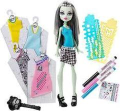 Designer Booo Tique Frankie Stein Doll and Fashions